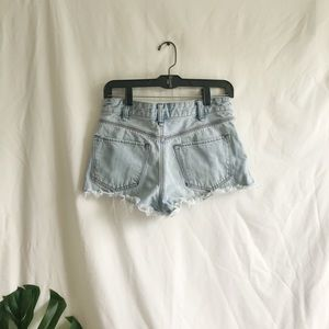 Free People Shorts - Free People Jean semihigh waisted distressed short